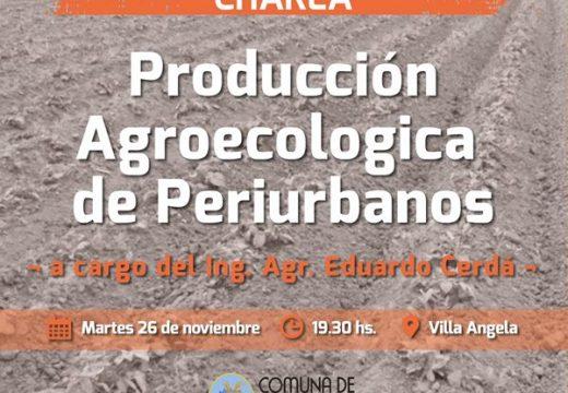 Correa. Charla de Producción Agroecologica de Periurbanos.