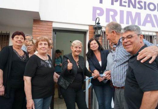 Clerici participo de la inauguración de la nueva sede del Centro de Jubilados Primavera.