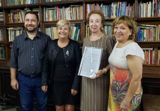 Clérici propuso declarar como patrimonio histórico y cultural a la Biblioteca Rivadavia