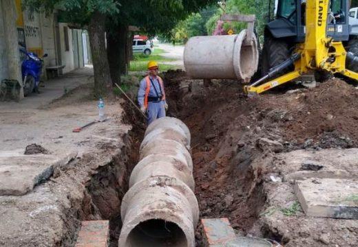 Cañada de Gomez. Avanzan trabajos hídricos en zona oeste.