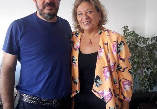 Cañada de Gomez. Reunión de la Secretaria de Cultura con innovación cultural de la nación.