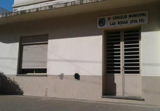 El concejo de Las Rosas acompaña el Proyecto de Emergencia Provincial.