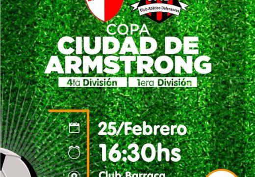 """Se viene la Segunda Edición Copa """"Ciudad de Armstrong""""."""