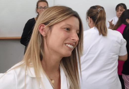 Las Parejas. Giovana Gómez asumió como nueva directora hospital.