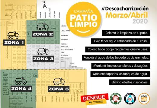 Está en marcha la campaña 'Patio Limpio' para prevenir enfermedades como el Dengue