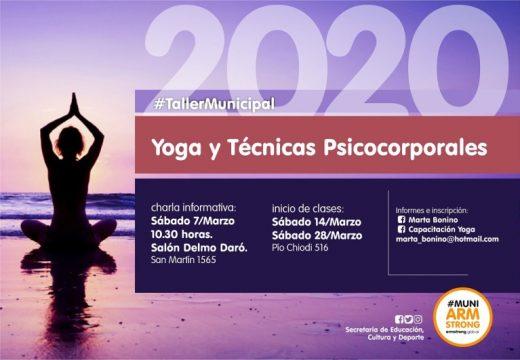 Armstrong. Instructorado y Profesorado de Yoga 2020.