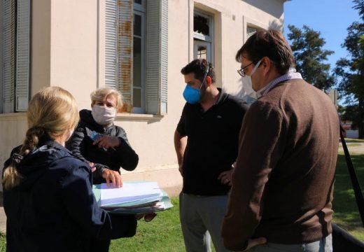 Cañada de Gómez. Visita del Sub-Secretario Pcial. de Acceso a la Salud.