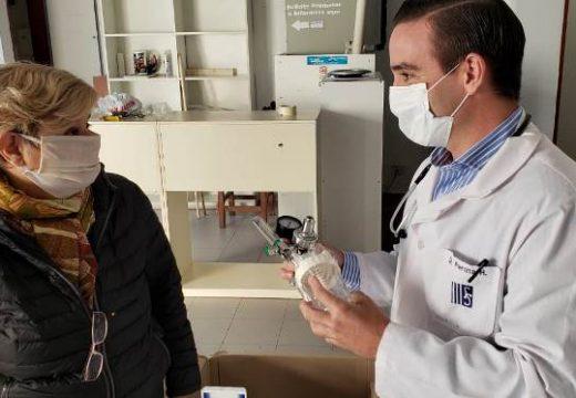 Cañada de Gómez. Municipio entrego 19 Manómetros de Regulación de oxígeno al Sanatorio Regional.