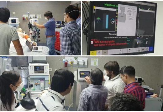 El Ventilador Mecánico desarrollado en Las Rosas supera pruebas y buscan su homologación
