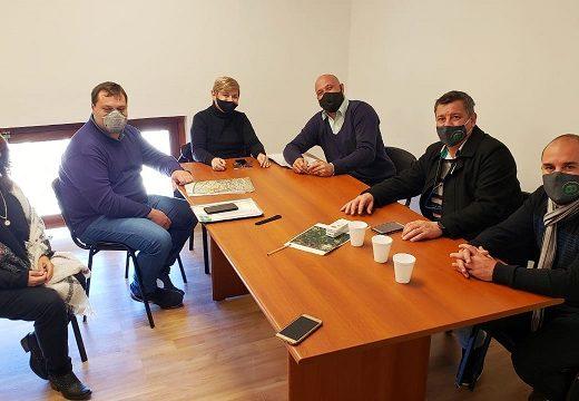 Gestiones de Clerici para obra de gas natural para Bustinza y Parque Industrial.