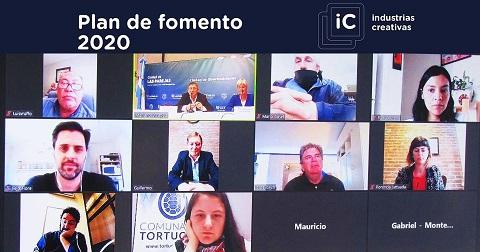 Cornaglia y Llonch presentaron el plan fomento 2020 en el Dto. Belgrano.