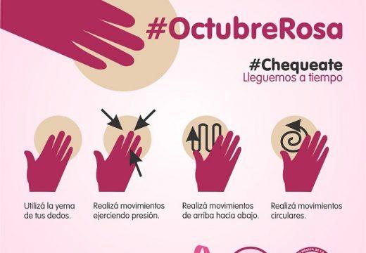 Noelia García: «Detectamos muchos cáncer de mama con las campañas de concientización»