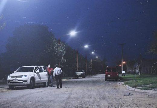 Nueva iluminación led sobre 10 cuadras del barrio sur de la ciudad.