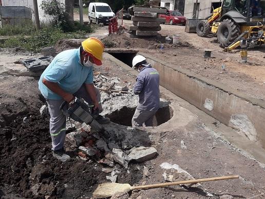 Cañada de Gómez. Municipio avanza con trabajos de obra pública.