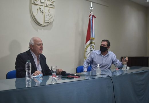 Armstrong. Visita del Ex Gobernador Miguel Lifchitz.