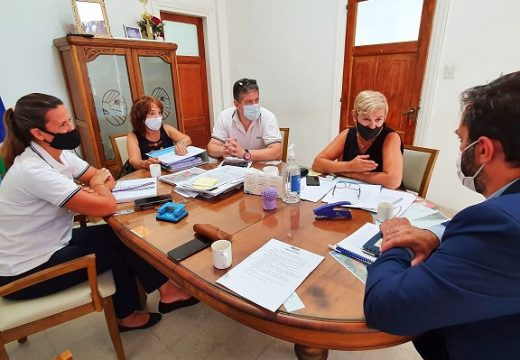 Clerici gestiona nuevas obras junto a aguas santafesinas.