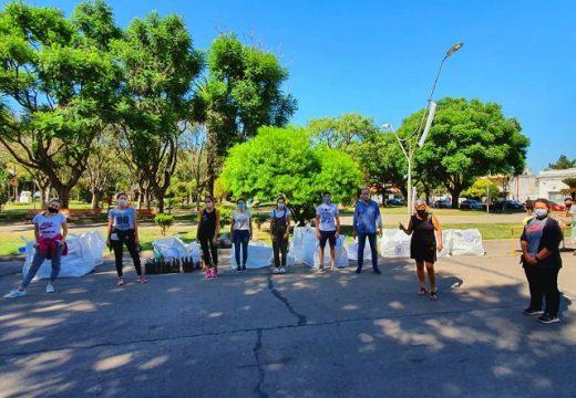 Cañada de Gómez. Respaldo del municipio a jornada de reciclado impulsada por jóvenes.
