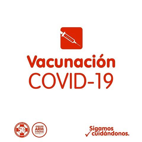 Armstrong. Inscripción para recibir la vacuna contra el Covid-19.