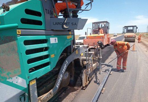 La Provincia avanza con obras viales en los departamentos Belgrano e Iriondo.
