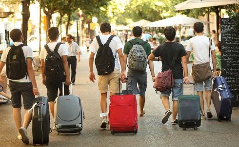 Cerca de 4,2 millones de turistas se movilizaron en Semana Santa.
