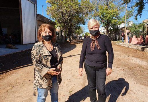 Cañada de Gómez. Municipio avanza con nuevos trabajos para pavimento.