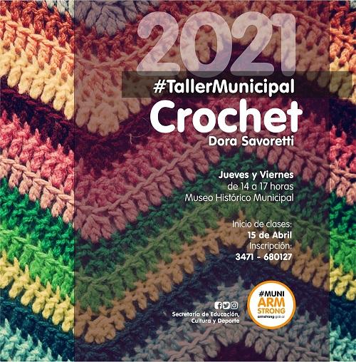 Armstrong. Taller Municipal de tejido crochet.