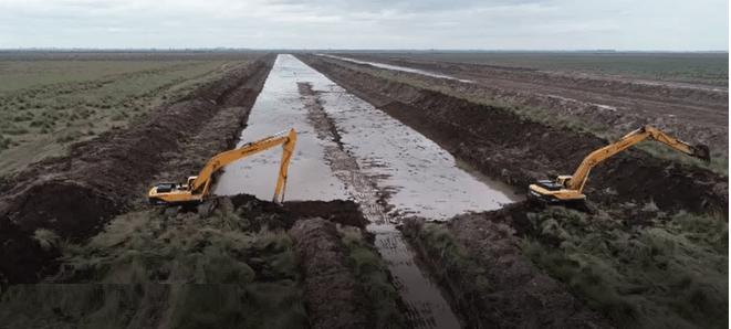 La obra del canal San Antonio evitó daños en la zona urbana tras fuertes precipitaciones.