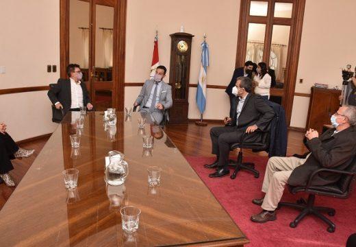 El Gobierno de Santa Fe se reunió con autoridades del Frente Renovador.