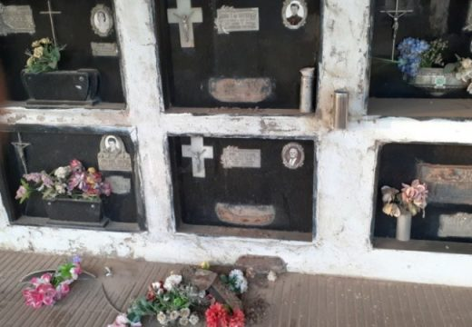 Preocupación por robos y destrozos en cementerios de pueblos del sur santafesino.