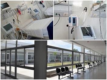 El SAMCo Las Parejas puso en funcionamiento un área de terapia intensiva.