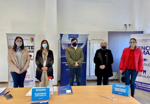 Cañada de Gómez. Se firmaron convenios para el fortalecimiento de servicios de niñez del departamento.