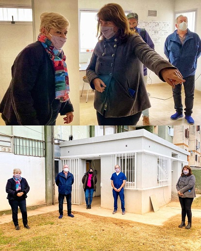 Cañada de Gómez. Avanzan trabajos de ampliación en centro de atención primaria de salud Barrio Fonavi.