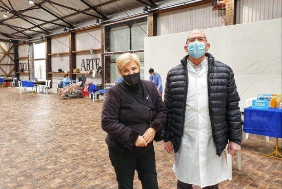 Cañada de Gómez. Municipio, Cudaio y Ministerio de salud realizaron nueva jornada de colecta de sangre.
