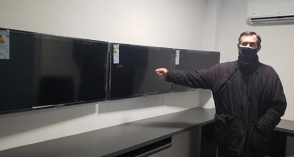 Armstrong. El intendente Verdecchia mostró nuevos avances en sistema de videovigilancia.