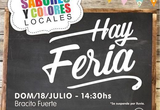 Domingo 18 de Julio Feria de Colores y Sabores.