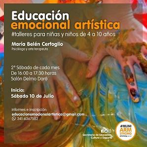 Talleres de Educación Emocional Artística para niños.