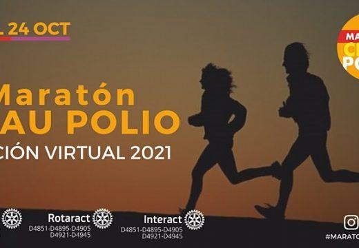 Maratón Chau Polio. Edición virtual.