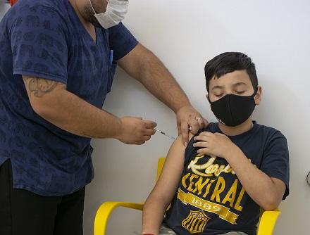 Coronavirus: La provincia inició la vacunación a menores de 3 a 11 años.