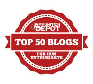 Ammunition Depot Top 50 Gun Blogs
