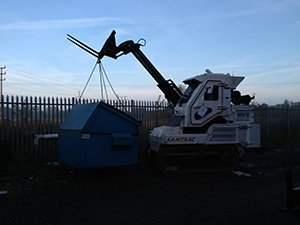 Armtrac Fork Lift Tines Boom