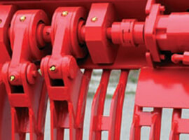 red component close-up