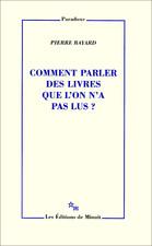 Comment Parler Des Livres Que L'on N'a Pas Lus : comment, parler, livres, Pierre, Bayard,, Lecteur, Créatif, Mondes, Parallèles