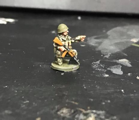Soviet Infantry Company -wearing KMLK suit