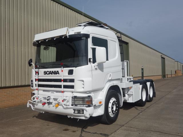 Scania 124 6x4