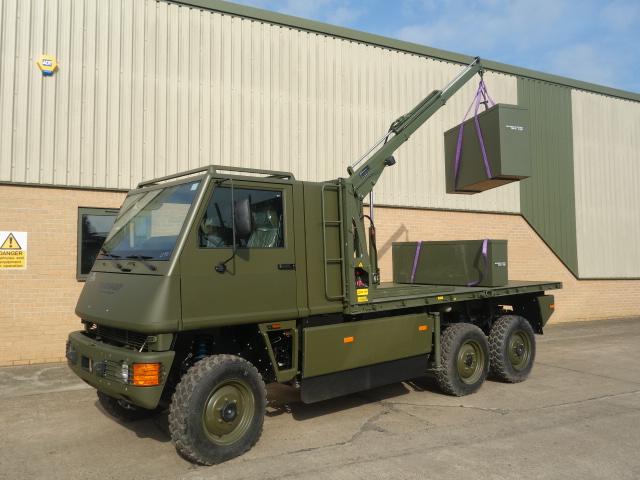 Mowag Duro II 6x6 LHD cargo trucks