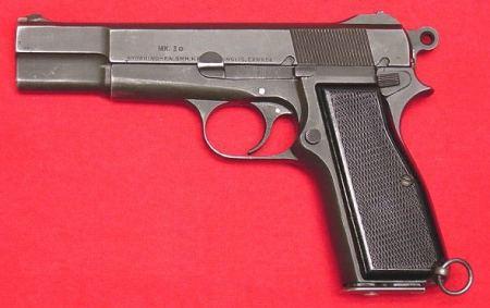 9mm pistol army ca
