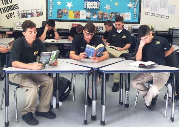 Planning Success Military Boarding School Boys