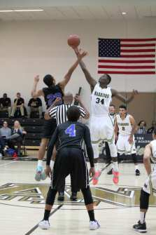 Basketball - Seck Tip Off