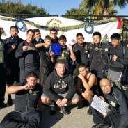 Varsity B Wrestling Team Takes 2nd vs. Mater Dei