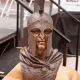 Senior Class Honors their School with a Striking Spartan Warrior Bronze Bust